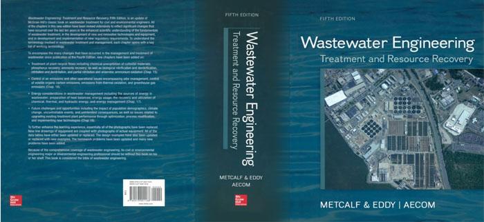 کتاب Wastewater Engineering Treatment and Resource Recovery عطران METCALF2014 atran